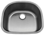 Image Leonet Royal LE-008 Single Bowl Stainless Steel Kitchen Sink