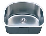Image C-Tech-I Patras LI-800 Stainless Steel Single Bowl Laundry Sink