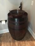 SimplyCopper 15 Aged Copper Vessel Bucket Sink