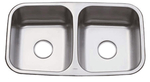 Image Oasis Sahara OA-50/50 Double Bowl Stainless Steel Kitchen Sink