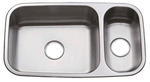 Image Oasis Mojave OA-70/30 Double Bowl Stainless Steel Kitchen Sink