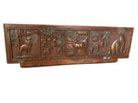 Image Copper Farmhouse WILDLIFE  Apron Front Sink Available in 30,