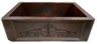 Image Copper Farmhouse Sink HIERRO  Available in 30,