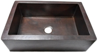 Image Copper Farmhouse Sink Available in 25