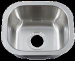 Patriot PAUS19 Arizonian Undermount Stainless Steel Single Bowl Bar Sink