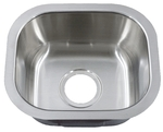 Royalty R09 Peanut Undermount Stainless Steel Bar Sink