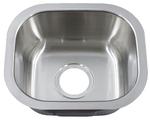 Royalty R09 Peanut Undermount Stainless Steel Bar Sink