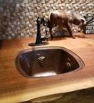 Copper Kitchen Bar / Prep Sink