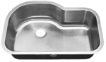 Tritan Zephyr TU-650 Single Bowl Stainless Steel Kitchen Sink