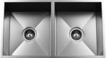 Urban Place Zero Edge ZS-100 Double Bowl Stainless Steel Kitchen Sink