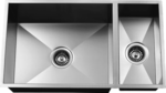 Urban Place Zero Edge ZS-200 Double Bowl Stainless Steel Kitchen Sink