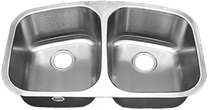 Tritan EOS 50/50 TU-550 Double Bowl Stainless Steel Kitchen Sink