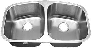 Tritan EOS 50/50 TU-550 Double Bowl Stainless Steel Kitchen Sink