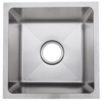 Urban Place Radial Edge R- ZS-500 Single Bowl Stainless Steel Sink