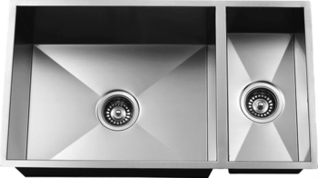 Urban Place Zero Edge ZS-200 Double Bowl Stainless Steel Kitchen Sink